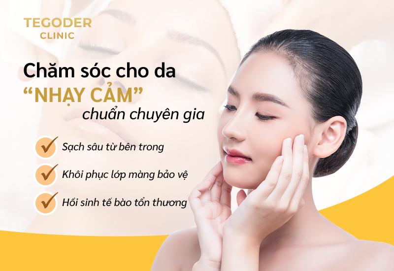 Cham Soc Da Nhay Cam Chuan Chuyen Gia